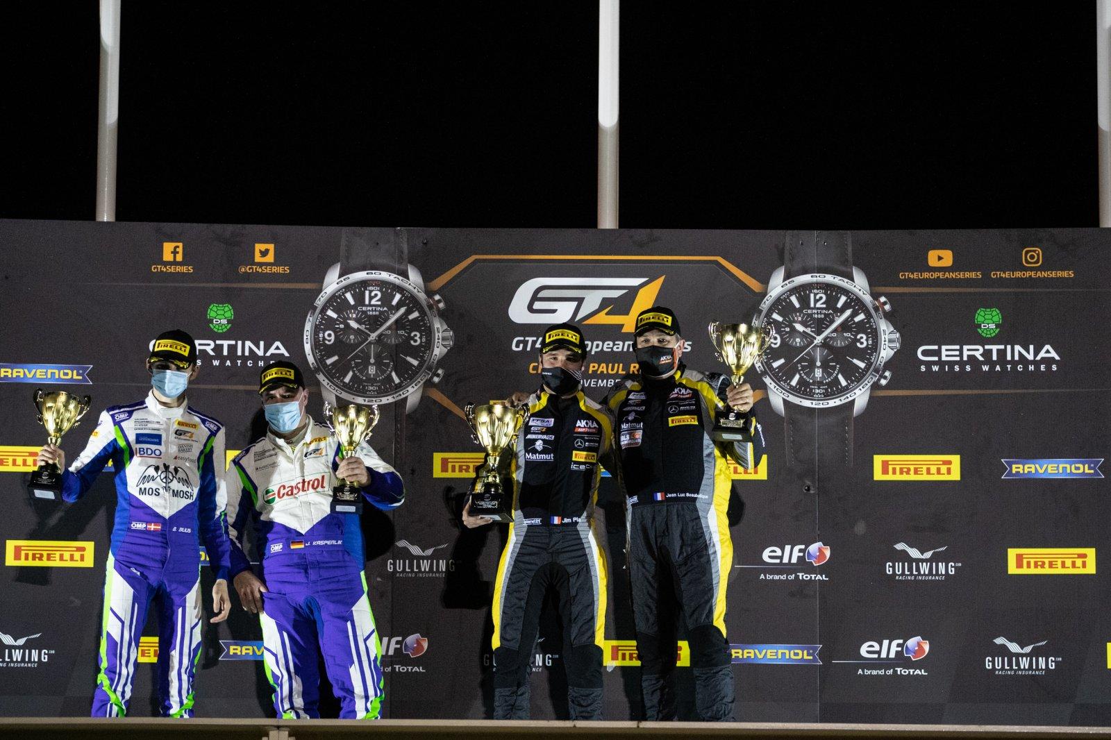 Podium Race 2 PRO-AM Cup