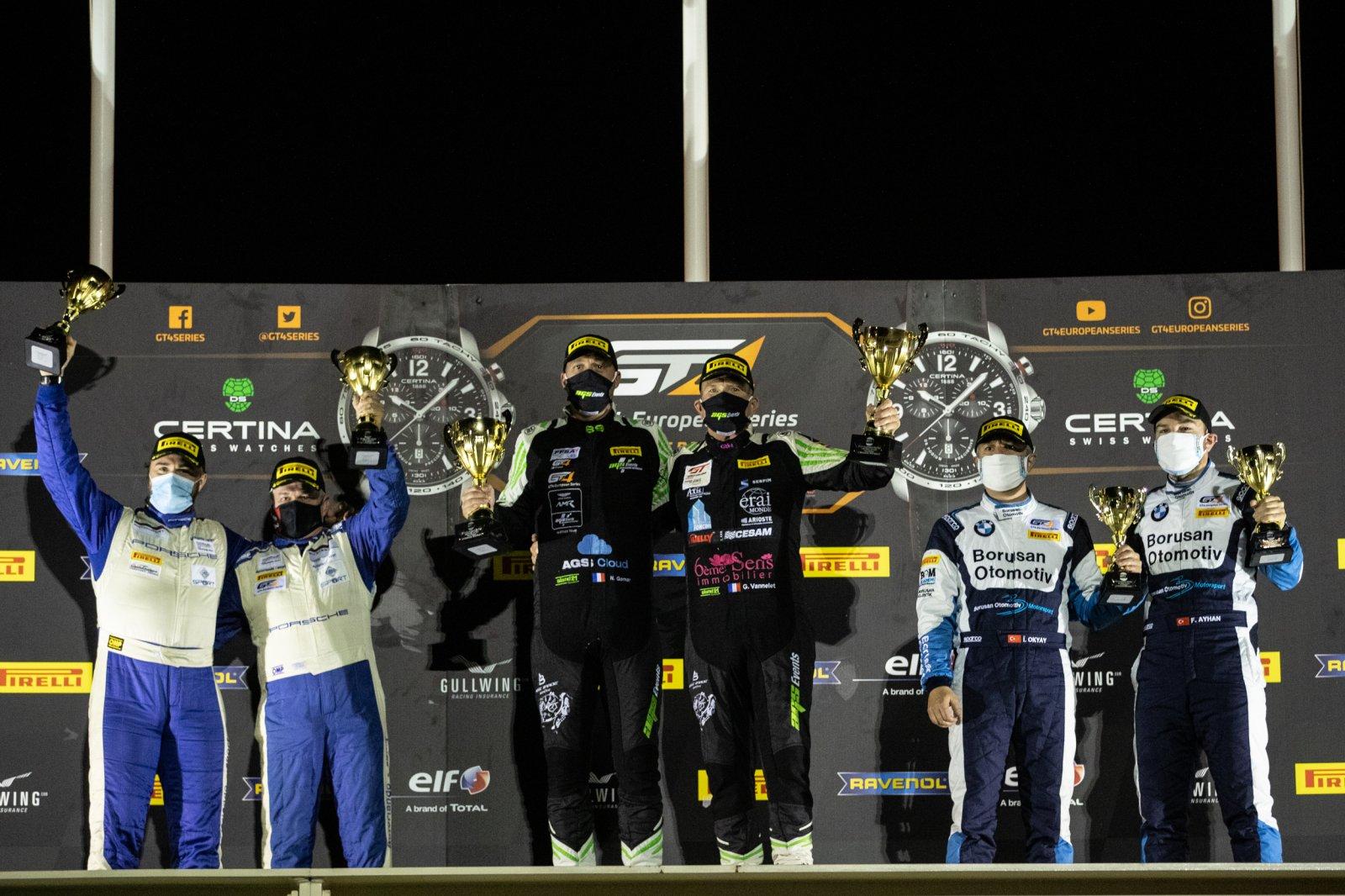 Podium Race 2 AM Cup